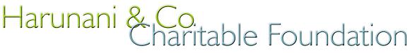 Harunani Charitable Foundation